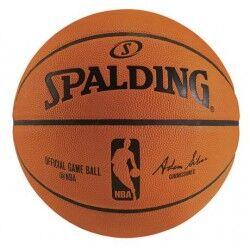 Spalding ballon officiel NBA cuir taille 7