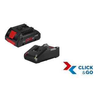 Bosch Kit de démarrage Bosch, 1 batterie ProCORE18V 4,0 Ah, chargeur rapide GAL 18V-40 Professional