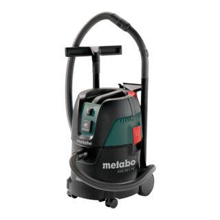 Metabo Aspirateur tous usages Metabo ASA 25 L PC avec nettoyage manuel du filtre