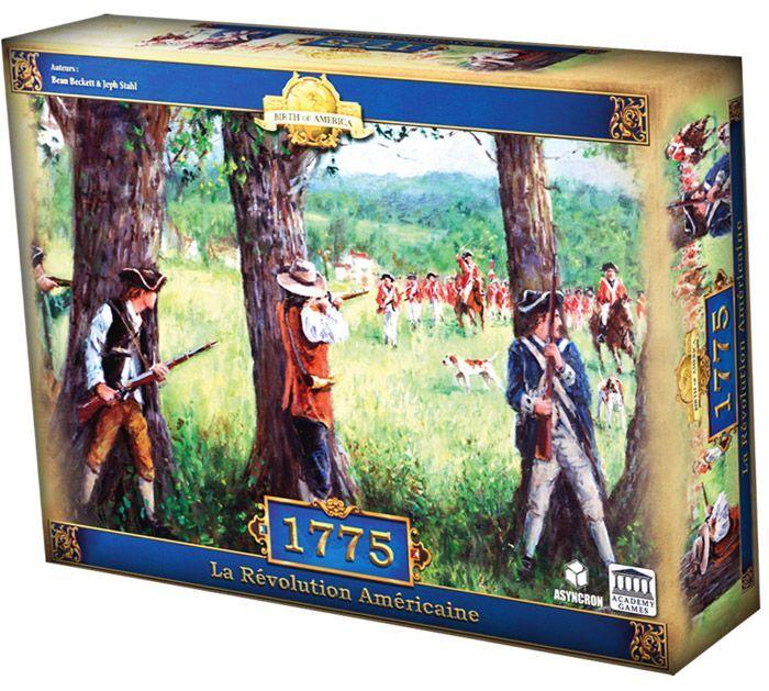 Pixie Games Birth of America - 1775 La Revolution Americaine