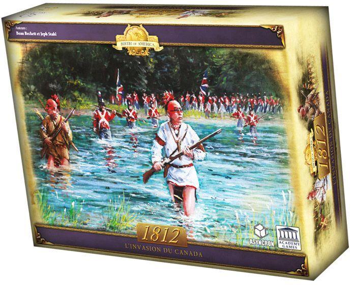 Pixie Games Birth of America - 1812 L'Invasion du Canada