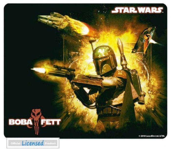 Abysse Corp STAR WARS - Tapis de souris - BOBAFETT