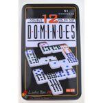 Loisirs Nouveaux Domino double 12 jeu de 91 dominos colores dans leur... par LeGuide.com Publicité