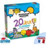 abysse corp  Abysse Corp MONSIEUR MADAME - Jeu de plateau - 20 Jeux classiques... par LeGuide.com Publicité