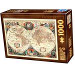 Loisirs Nouveaux Puzzle 1000 pieces - Vintage Map 1 puzzle 1000 pieces... par LeGuide.com Publicité