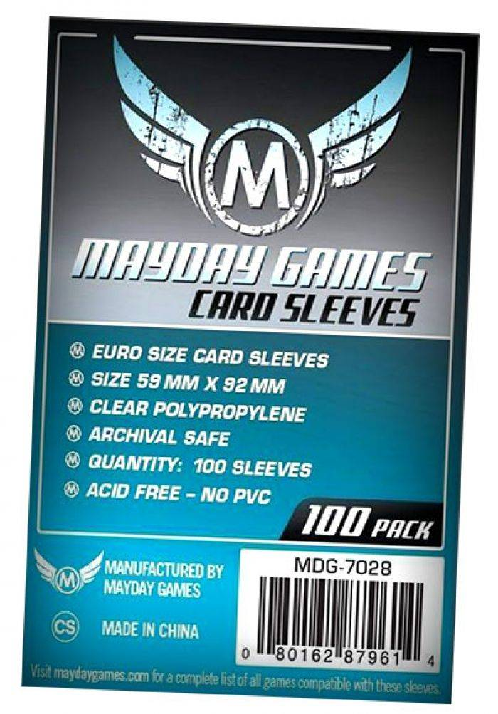 Pixie Games 59x92mm Euro Standard  - Sleeves Mayday