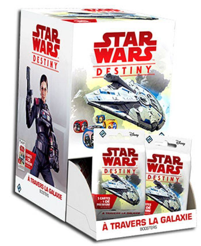 Asmodee Star Wars : Destiny : Booster A Travers la Galaxie