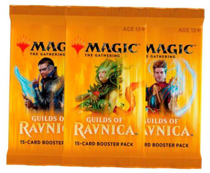 Novalis Magic The Gathering : Guildes de Ravnica Booster FR