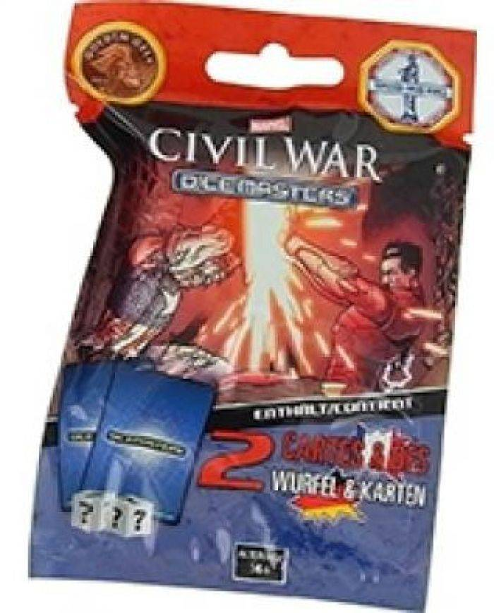 Asmodee Dice Master - MDM5 - Booster Civil War (VF)