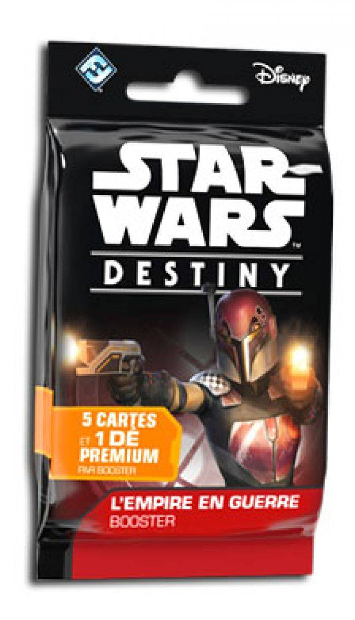 Asmodee Star Wars : Destiny - Booster L'empire en guerre