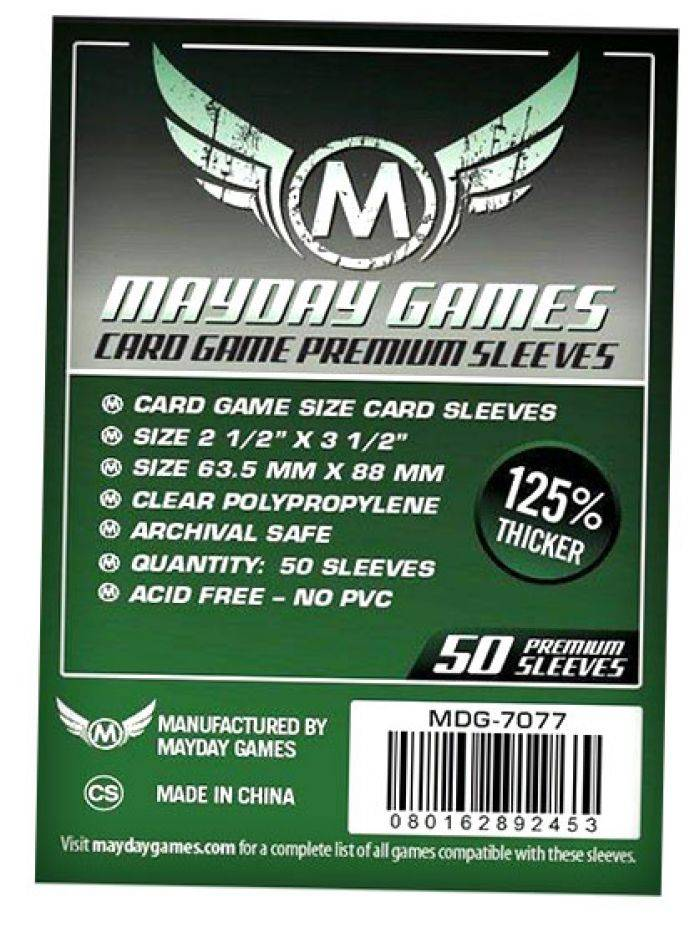Pixie Games 63,5x88mm Card Game Premium - Sleeves Mayday