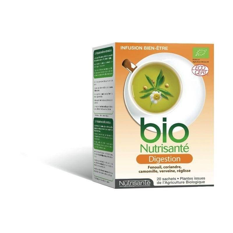Nutrisante - Infusion bio digestion sach 20
