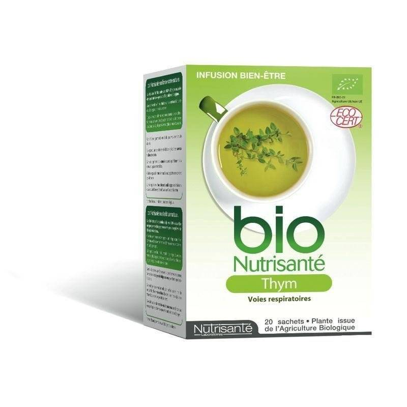 Nutrisante - Infusion bio thym sach 20