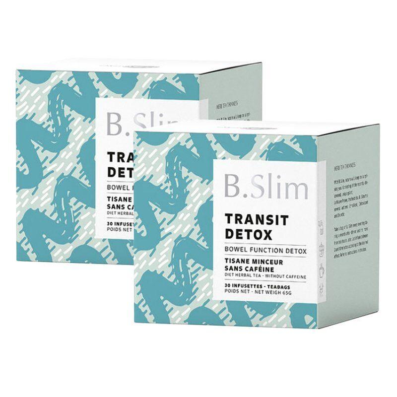 B.slim 2 boîtes de tisane de régime 30 infusettes
