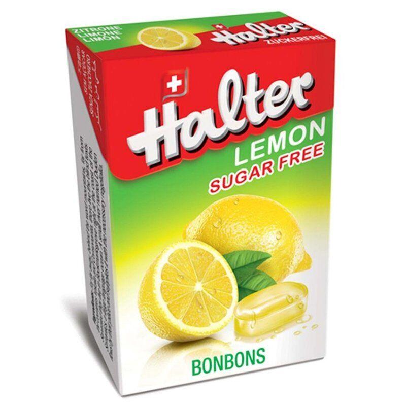 Halter bonbons citron sans sucre 40g