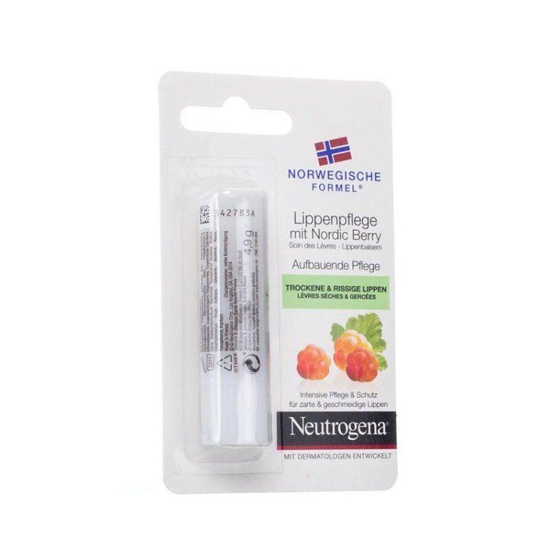 Neutrogena formule norvégienne stick lèvres nordic berry 4,8g