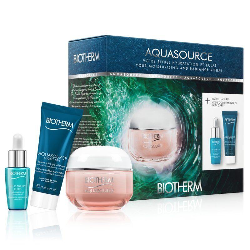 Biotherm coffret aquasource crème hydratante + 2 cadeaux