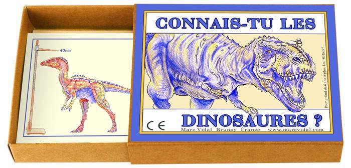 MARC VIDAL Connais-tu les dinosaures ?