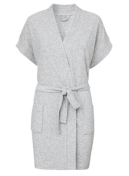 HEMA Peignoir Femme Gris (gris)
