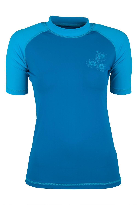 Mountain Warehouse T-Shirt Anti-UV Femme - Bleu