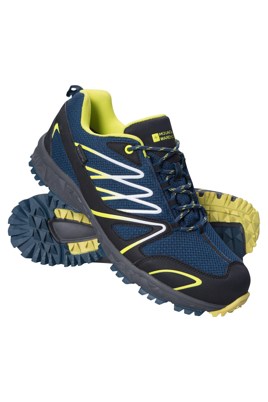 Mountain Warehouse Chaussures de sport hommes Enhance Trail - Gris Foncé
