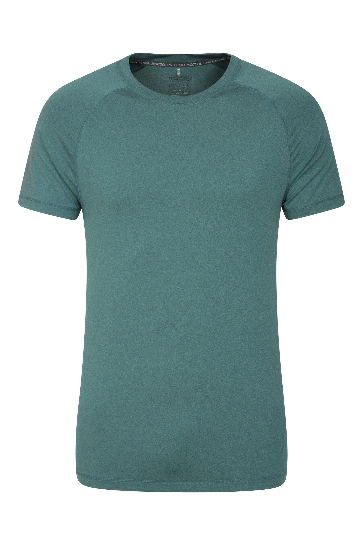 Mountain Warehouse T-Shirt Agra Melange Hommes - Gris Foncé