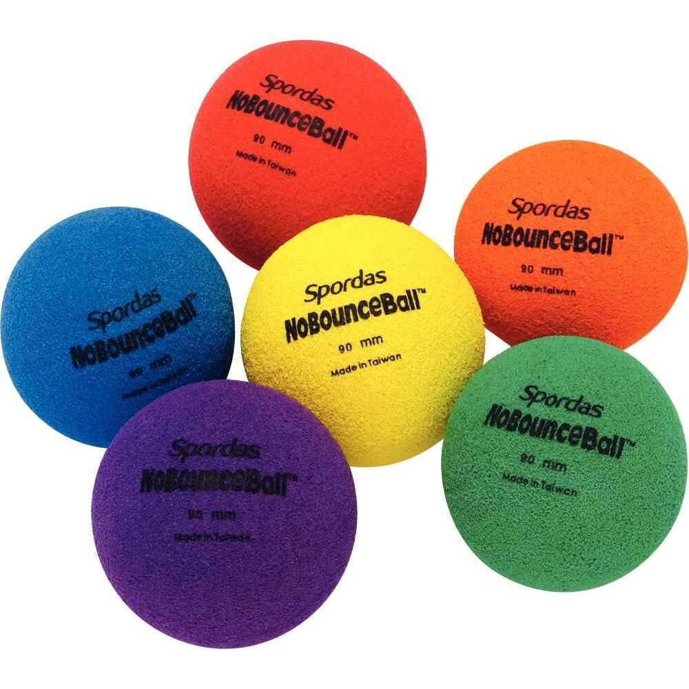 NC Balles non rebondissantes diamètre 9cm - Lot de 6
