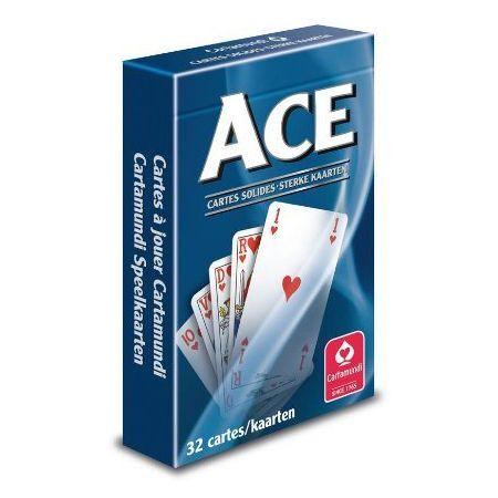 CARTAMUNDI Jeu de 32 cartes ACE sous étui carton