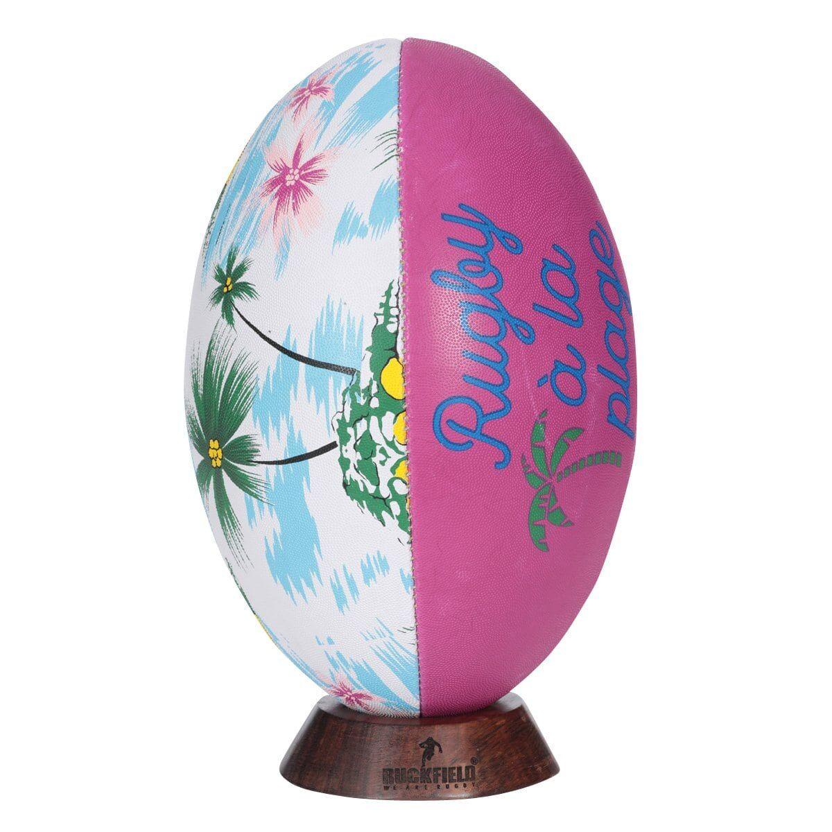 Ruckfield Ballon de Rugby Vacances à la Plage