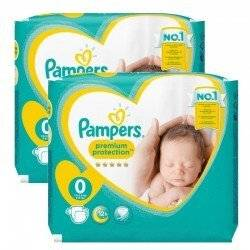 Pampers 48 Couches Pampers new baby - premium protection taille 0