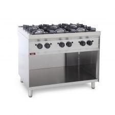CHEFOOK Cuisine à Gaz Professionnelle 6 Brûleurs CH76B Prix Choc