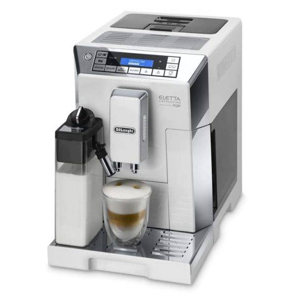 Delonghi TOP ECAM 45.760.W Cafetiere automatique