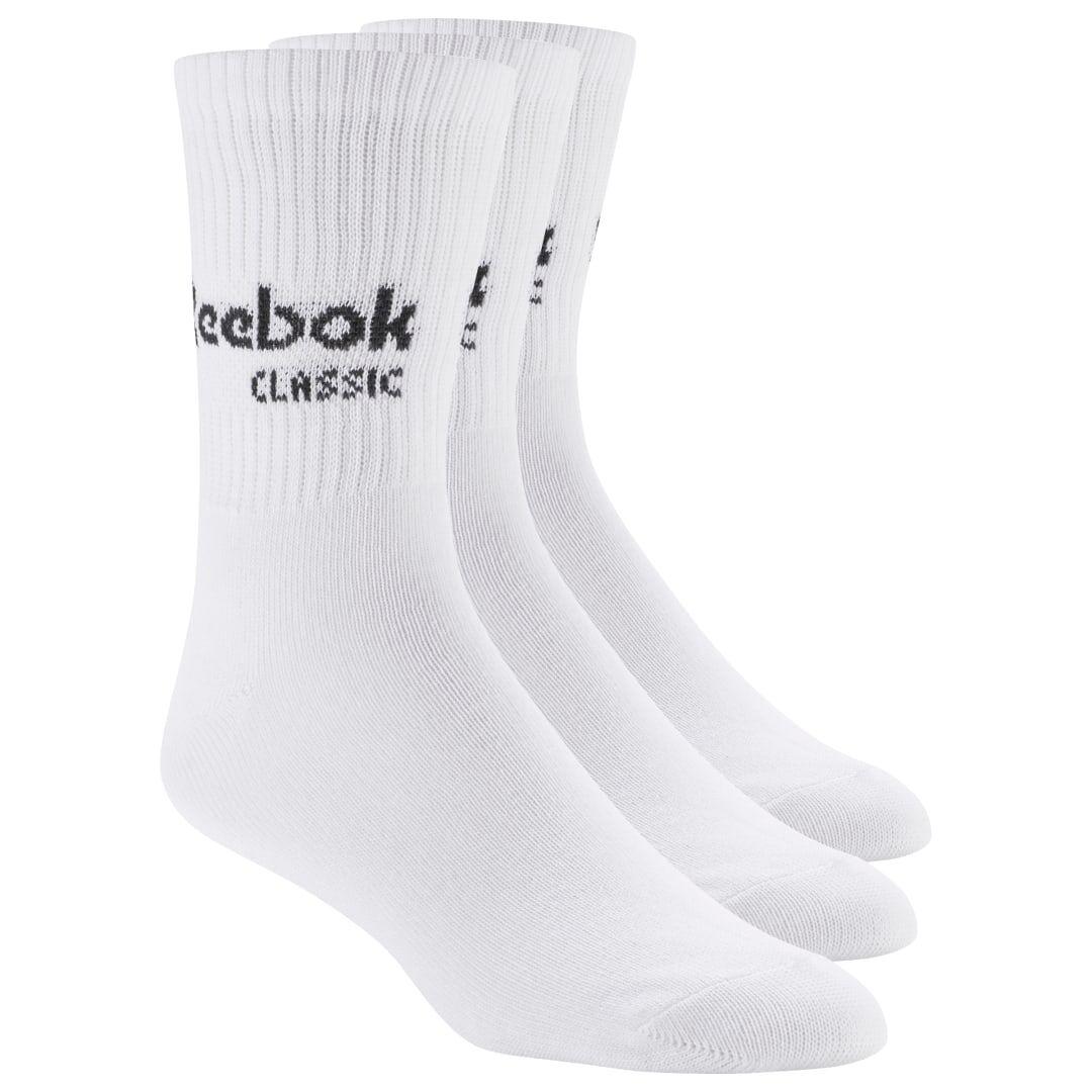 Reebok Pack de trois chaussettes Classic One Core