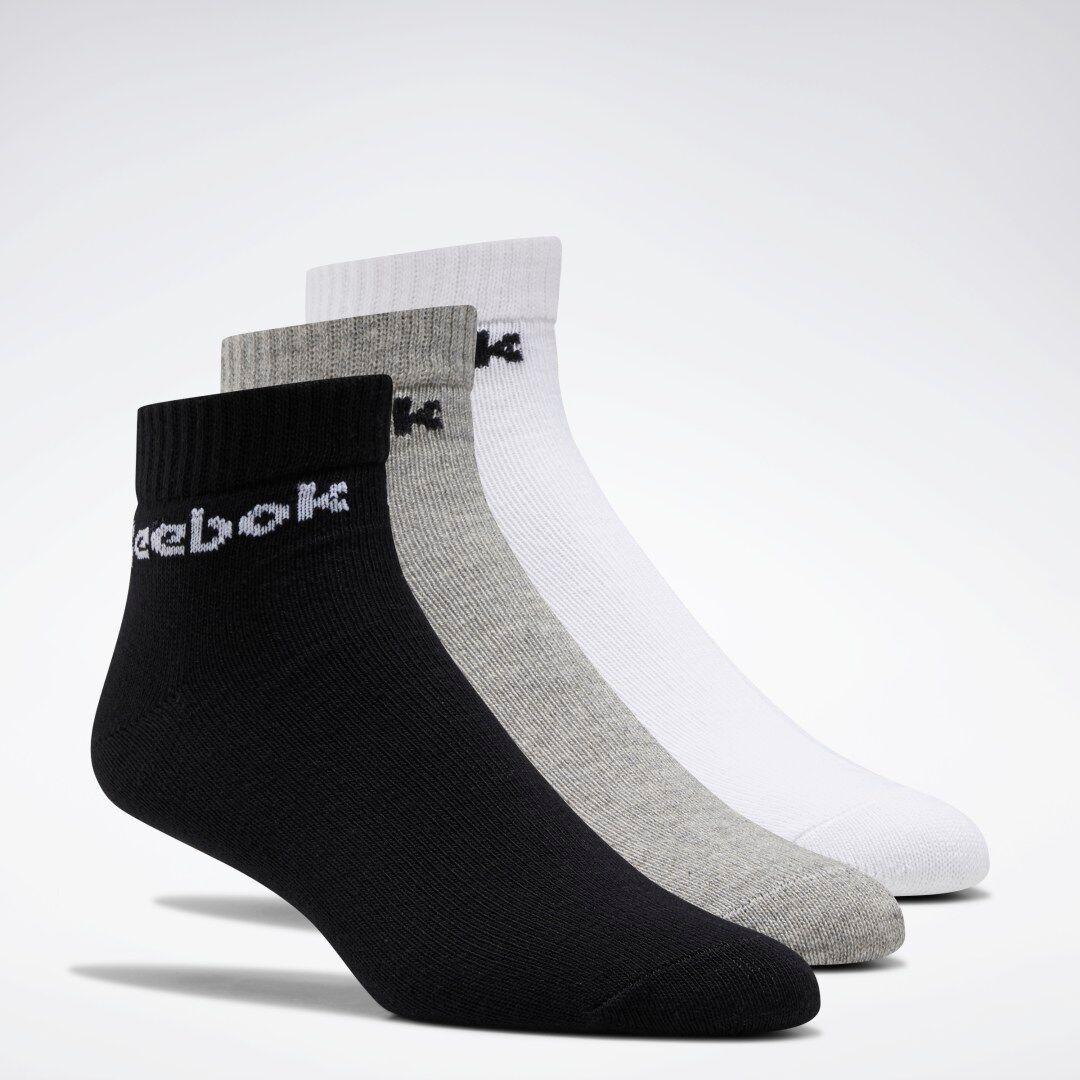 Reebok Chaussettes basses Active Core - 3 paires