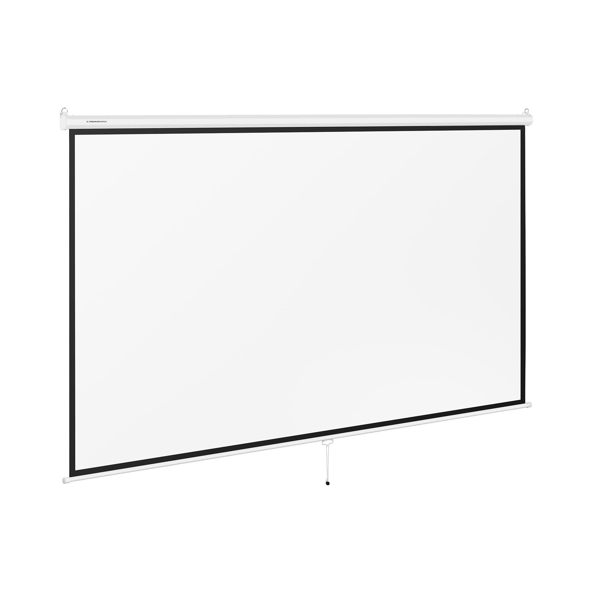 Fromm & Starck Écran de projection - 340 x 210 cm - 16:9 STAR_RS150M169_01