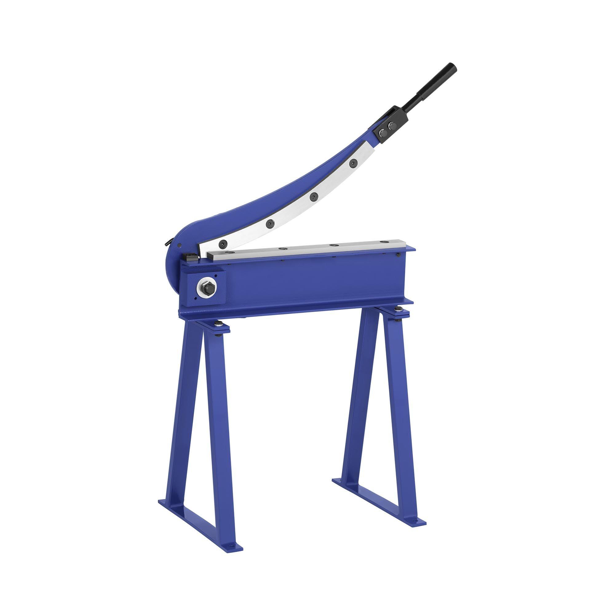 MSW Cisaille à tôle à levier avec piétement - Largeur de coupe de 500 mm MSW-HS500