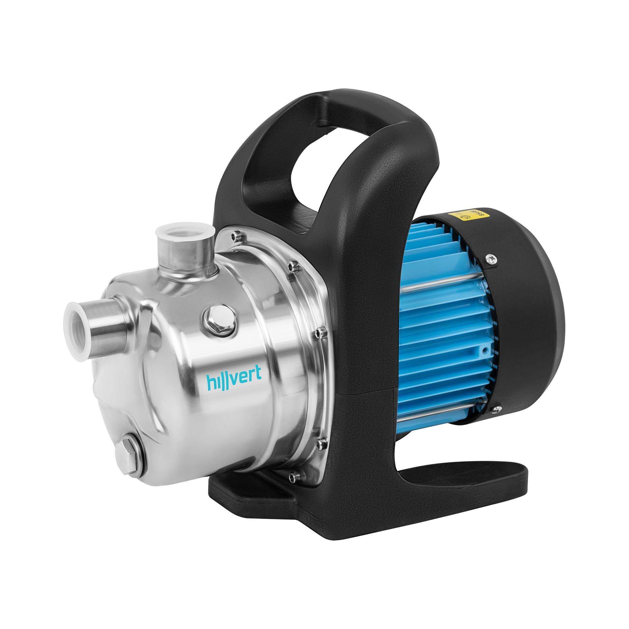 hillvert Pompe de jardin - 2 900 l/h - 800 W - Acier inoxydable HT-ROBSON-GP800