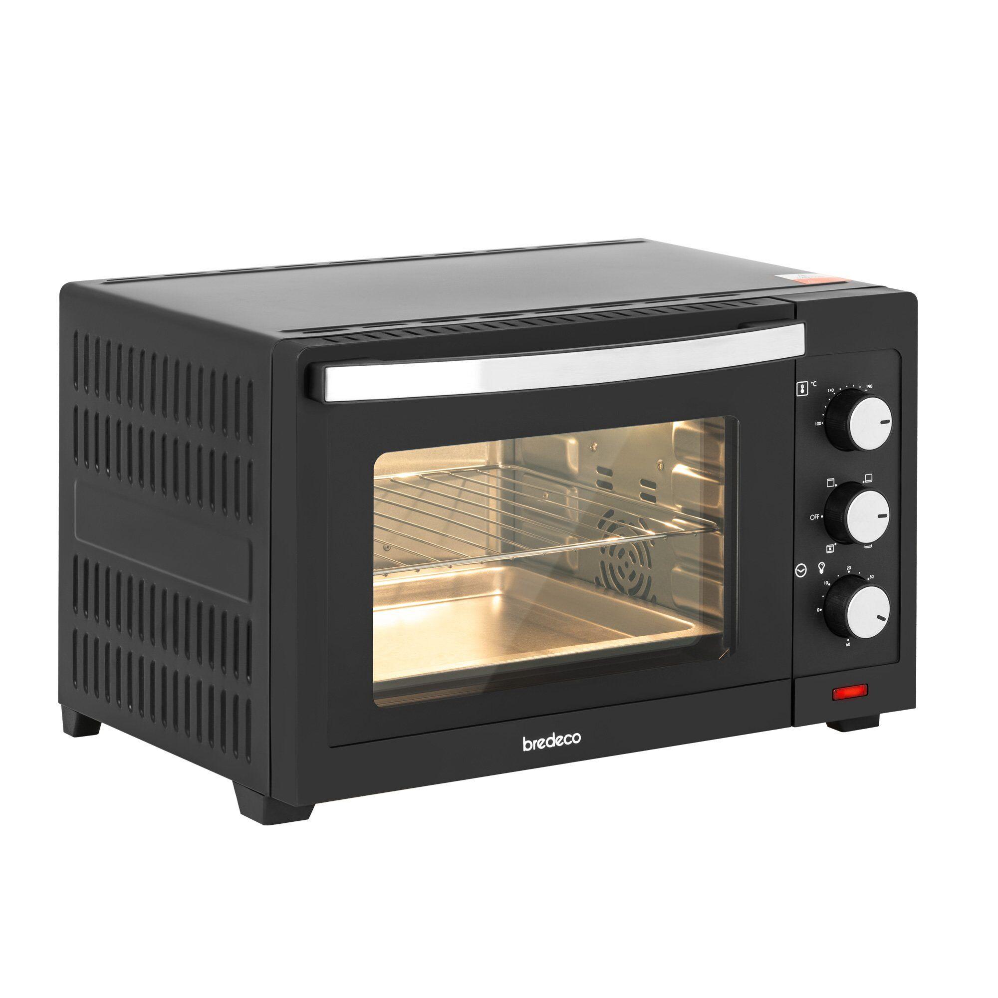 bredeco Mini-four - 1 600 W - 30 l - 5 programmes BCMO-30L