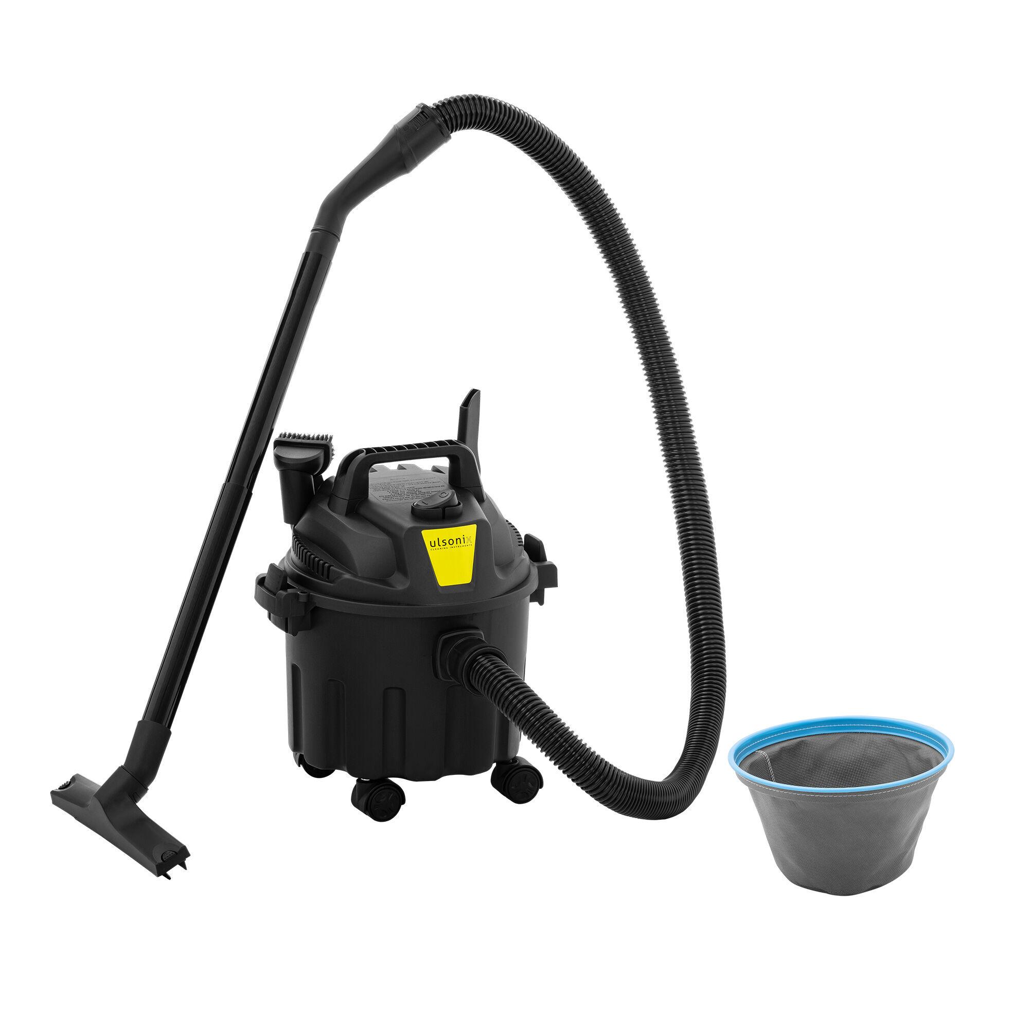 ulsonix Aspirateur eau et poussière sans sac- 1 000 W - 10 l FLOORCLEAN 10C