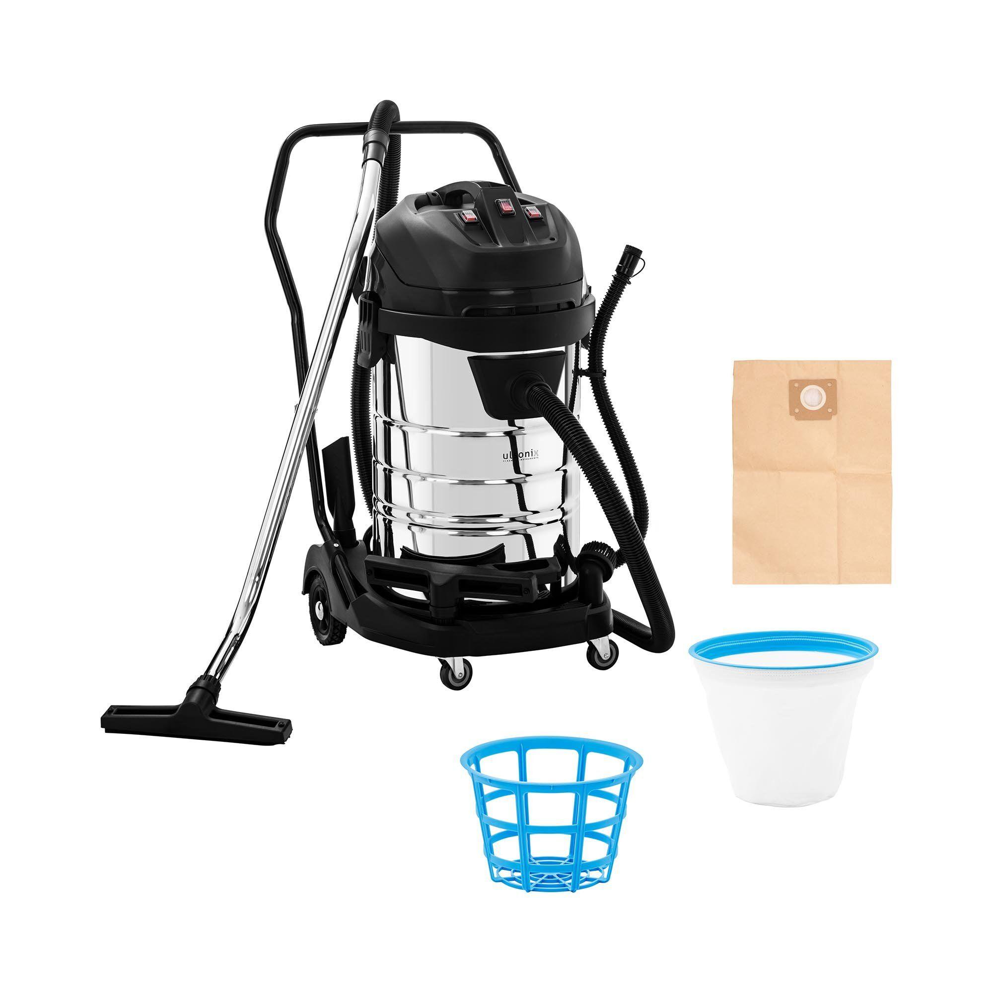 ulsonix Aspirateur eau et poussière - 3 000 W - 80 l FLOORCLEAN 80M