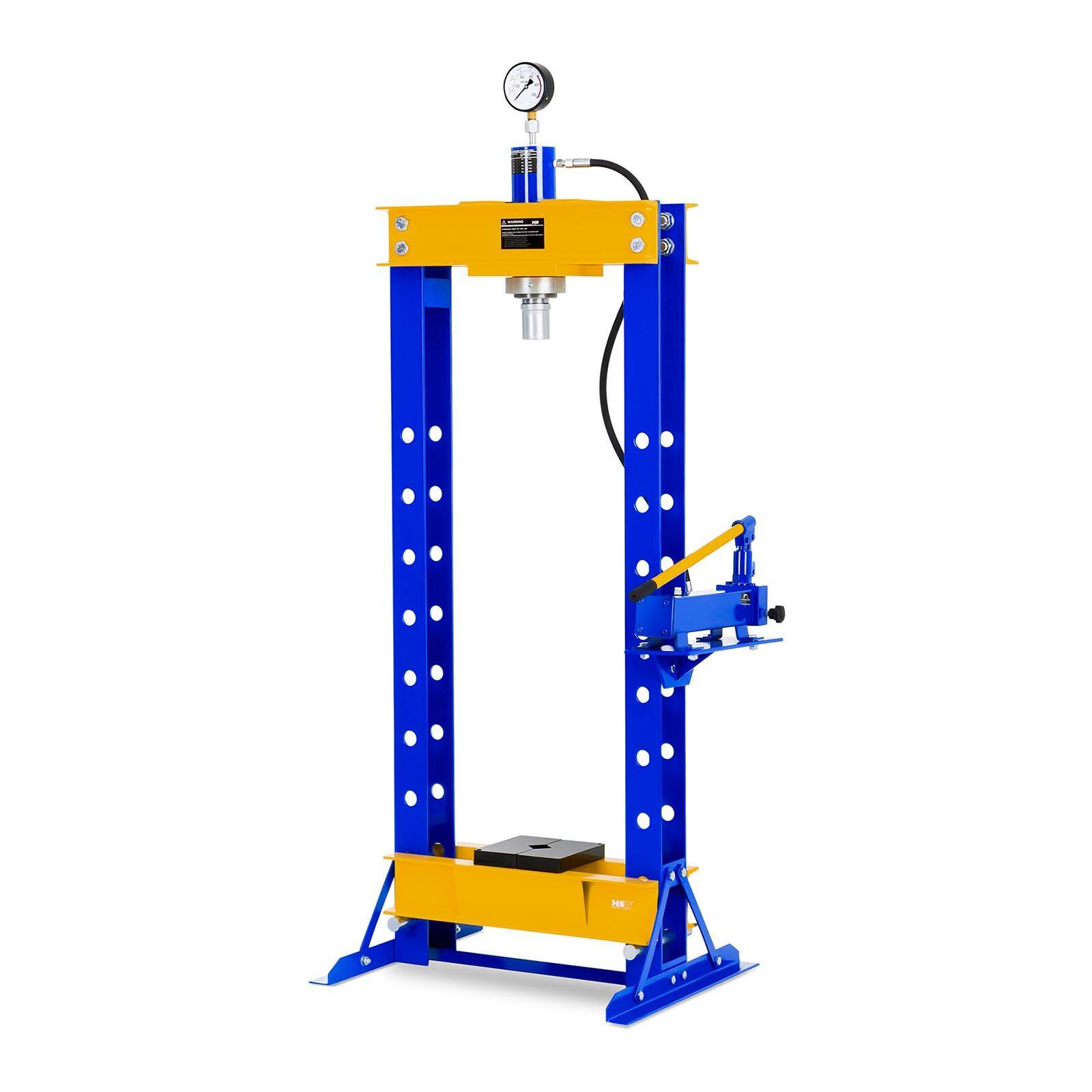 MSW Presse d'atelier hydraulique - 30 tonnes de pression MSW-WP-30T
