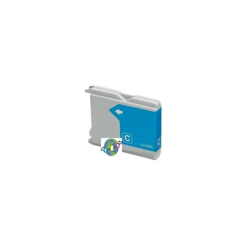 LC-970 / LC-1000 C Cartouche d'encre compatible Brother - Cyan