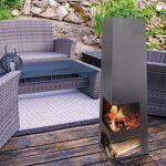 pur line  Purline ® EFP9, un brasero poêle à bois extérieur design avec... par LeGuide.com Publicité
