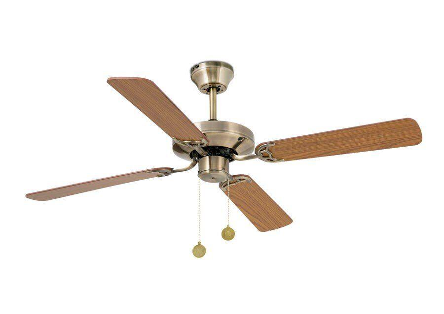 faro barcelona ventilateur de plafond yakarta laiton moderne