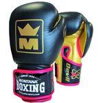 montana  Montana Gants boxe Devil Montana cuir pieds poings Noir 16 oz... par LeGuide.com Publicité