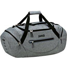 Jako Sac de sport Jako avec poches latérales gris M - Jako