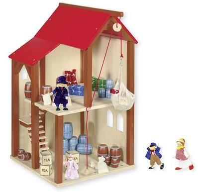 Goll&Kie - origine UE - Made in Europe Grenier avec poupées articulées