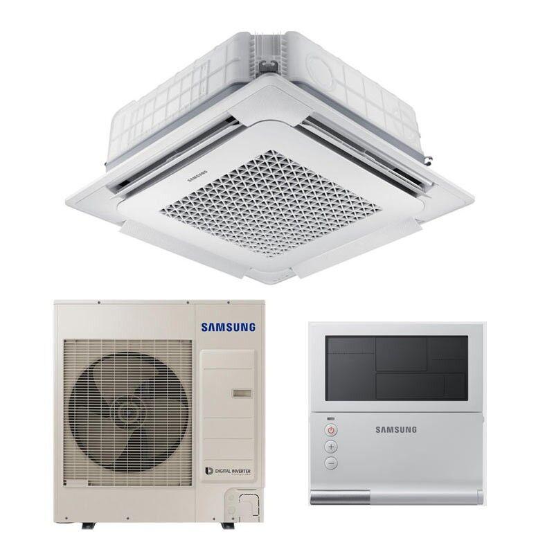 Samsung Climatiseur à cassette Samsung Windfree 36000BTU 10.0kW 90x90 R32 A++/A+