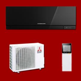 Mitsubishi Electric Climatisation Mono Split Réversible Inverter MSZ-EF35VGB / MUZ-EF35VG MITSUBISHI ELECTRIC