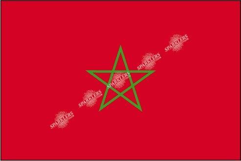 LinDER Drapeau Maroc 90x150cm
